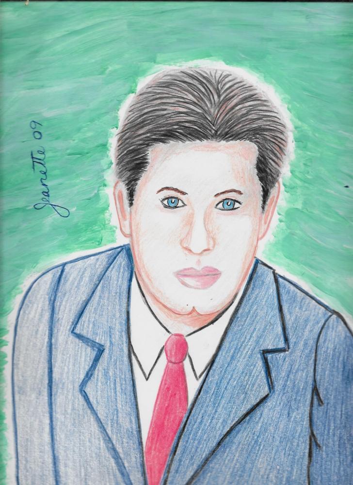 John Travolta by Jeanette